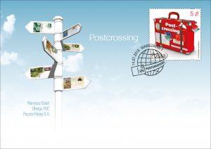Postcrossing koperta popr