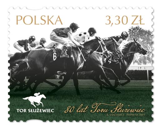 波兰5月5日发行Toru Służewiec80周年邮票
