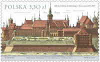 波兰5月29日发行华沙皇家城堡400周年邮票