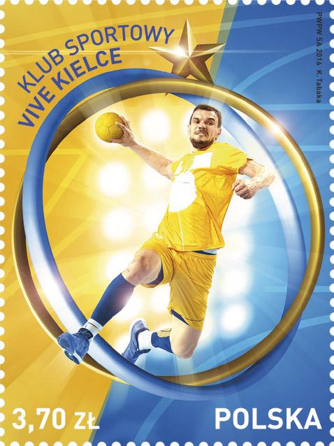 波兰12月9日发行凯尔采体育俱乐部万岁邮票