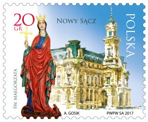 波兰11月8日发行波兰城市-新松奇邮票