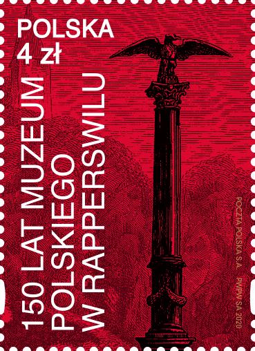 波兰10月23日发行拉珀斯维尔波兰博物馆的150年历史邮票