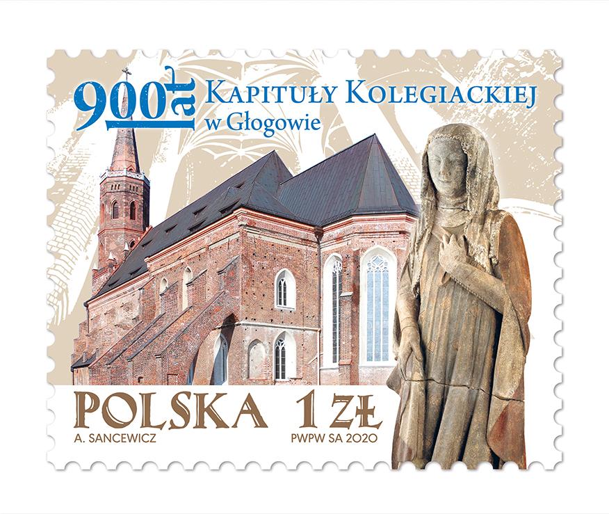 波兰9月25日发行格洛戈夫大学分校900年邮票