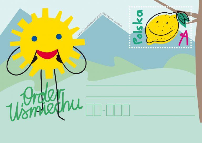 波兰6月1日发行微笑的顺序邮资片