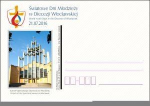 ŚDM - kartka Włocławek - Kosciół NZ(1)