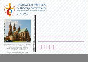 ŚDM - kartka Włocławek - katedra(1)