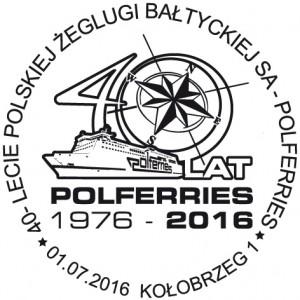 Datownik okolicznościowy 01.07.2016 Gdańsk