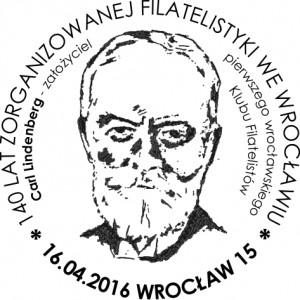 Datownik okolicznościowy 16.04.2016 Wrocław