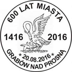 Datownik okolicznościowy 20.08.2016 Poznań