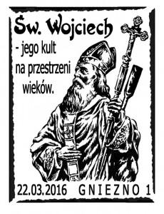 Datownik okolicznościowy 22.03.2016 Poznań