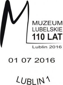 Datownik stały ze zminną datą 01.07.2016 Lublin