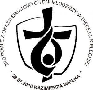 datownik ŚDM Kazimierza Wielka