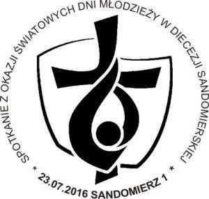 datownik ŚDM Sandomierz 1