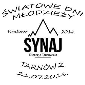 datownik ŚDM Tarnów 2