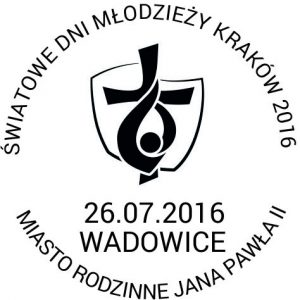 datownik ŚDM Wadowice