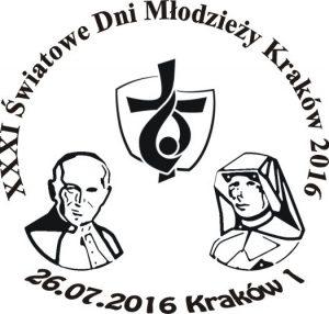 datownik okolicznościowy ŚDM Kraków 1