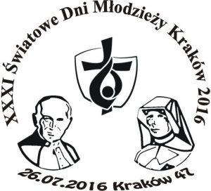 datownik okolicznościowy ŚDM Kraków 47