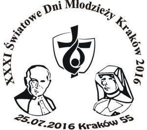 datownik okolicznościowy ŚDM Kraków 55