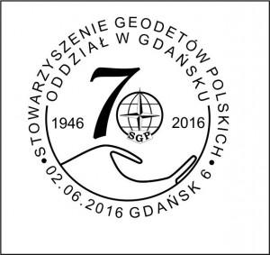 datownik okolicznościowy 02.06.2016 Gdańsk