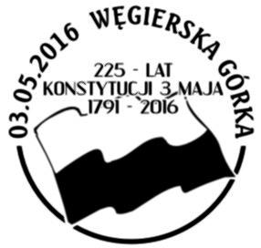 datownik okolicznościowy 03.05.2016 Katowice