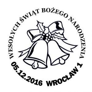 datownik okolicznościowy 05.12.2016 Wrocław