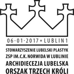 datownik okolicznościowy 06.01.2017 Lublin