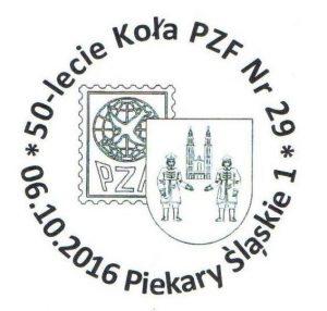 datownik okolicznościowy 06.10.2016 Katowice