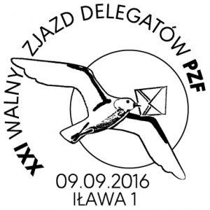 datownik okolicznościowy 09.09.2016 Bydgoszcz