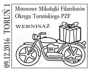 datownik okolicznościowy 09.12.2016 Bydgoszcz