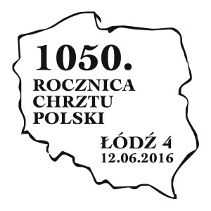 datownik okolicznościowy 12.06.2016 Łódź
