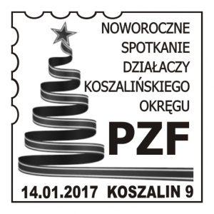 datownik okolicznościowy 14.01.2017 Gdańsk