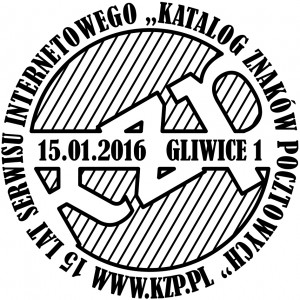 datownik okolicznościowy 15.01.2016 Katowice