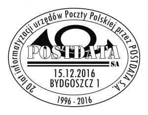 datownik okolicznościowy 15.12.2016 Bydgoszcz