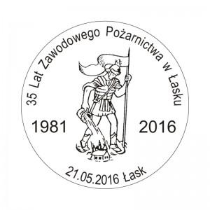datownik okolicznościowy 21.05.2016 Łódź