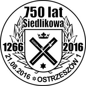 datownik okolicznościowy 21.08.2016 Poznań