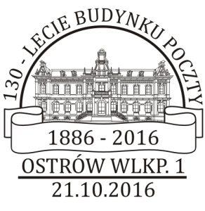 datownik okolicznościowy 21.10.2016 Poznań
