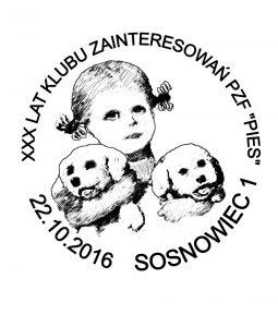 datownik okolicznościowy 22.10.2016 Katowice