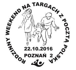 datownik okolicznościowy 22.10.2016 Poznań