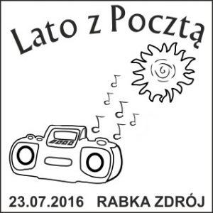 datownik okolicznościowy 23.07.2016 Kraków