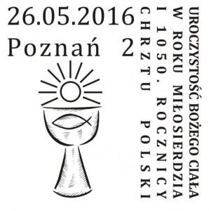 datownik okolicznościowy 26.05.2016 Poznań