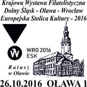 datownik okolicznościowy 26.10.2016 Wrocław