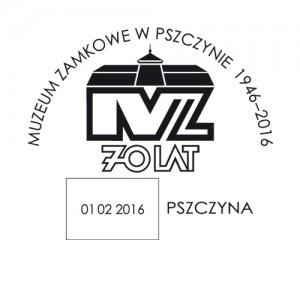 datownik okolicznościowy ze zmienną datą 01.02.2016 Katowice