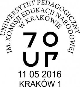 datownik okolicznościowy ze zmienną datą 11.05.2015 Kraków