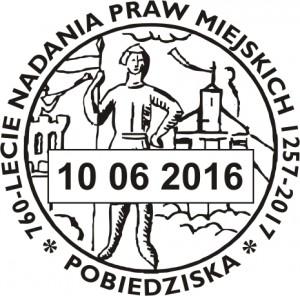 datownik stały ze zmienna datą 10.06.2016 Poznań