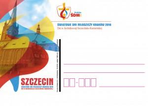 kartka okolicznościowa ŚDM Gdańsk 1