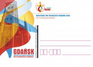 kartka okolicznościowa ŚDM Gdańsk 3