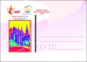 kartka okolicznościowa ŚDM Legnica