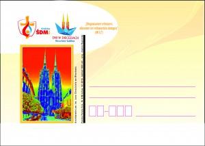 kartka okolicznościowa ŚDM Wrocław