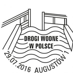 Drogi Wodne Kanal Augustowski datownik