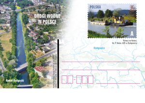 Drogi Wodne Kanal Bydgoski kartka